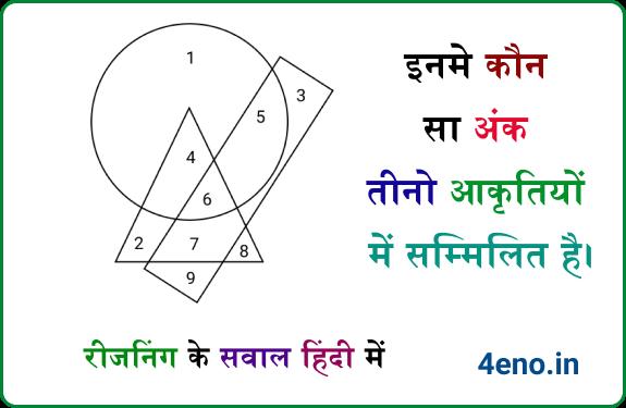 Reasoning Questions in Hindi – Reasoning Online Mock Test in Hindi Free